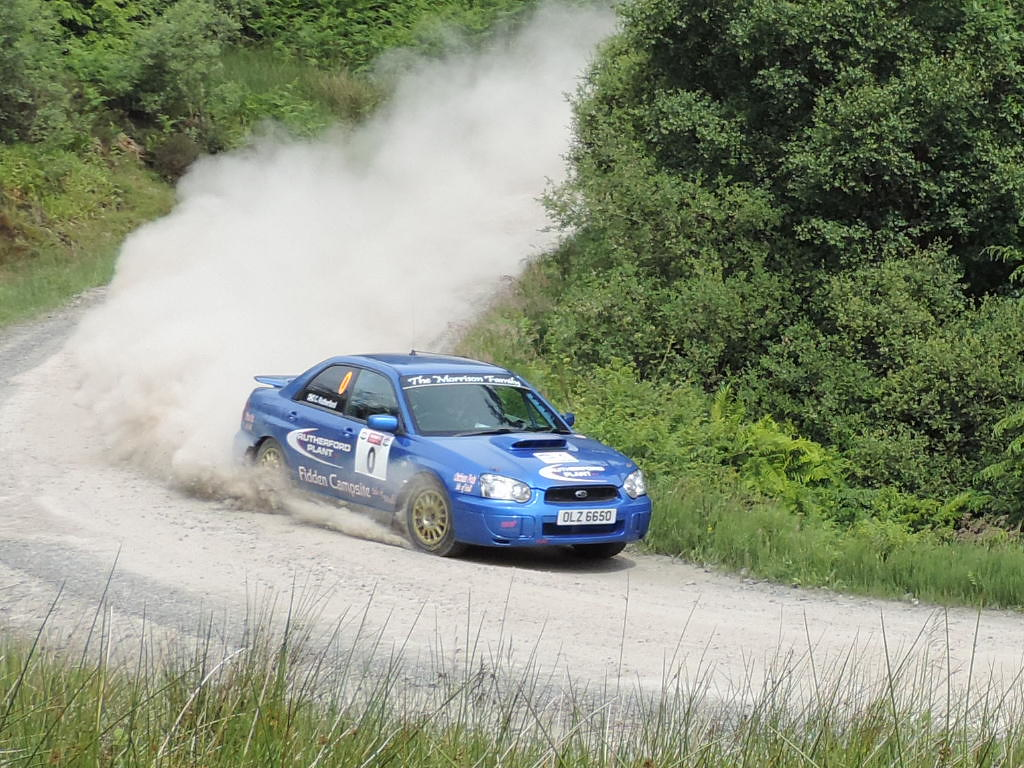 Finally, Argyll Rally